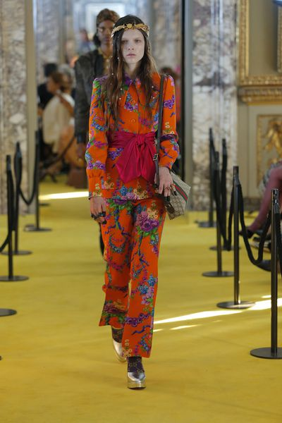 """<p>The latest <a href=""""http://style.nine.com.au/2017/05/30/09/52/sideboob-gucci-dakota-johnson"""" target=""""_blank"""">Gucci Resort collection</a> in Florence clearly demonstrated that pearls are no longer restricted to the necks and earrings of modern matriarchs or Ian Thorpe.</p> <p>Pearl embellishments have spread their way to sunglasses, right down to shoes.</p> <p>The best approach when working with pearls is to play against their upper crust history of 4000 years and place them in a casual setting (pearl beanie anyone?).</p> <p>Dive into our pick of pearl pieces.</p>"""