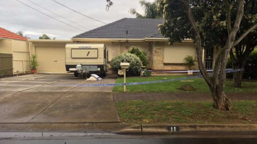 Police have not confirmed how the woman died. (9NEWS)