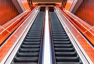 Daily Quiz: Where is the polite place to stand when riding an escalator in Australia?