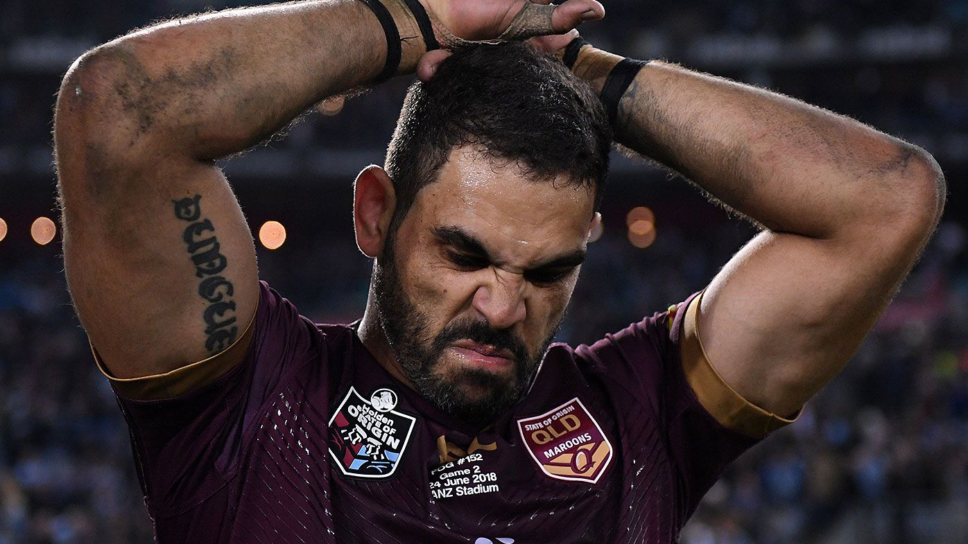 Greg Inglis' former Melbourne Storm teammate Brett Finch pays emotional tribute