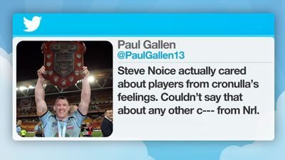Cronulla Sharks and NSW Blues captain Paul Gallen has been heavily punished for a tweet abusing the heads of the NRL. However, he is not the only high-profile sports star to lose his cool online. Look through our gallery to see some of the biggest fines handed out to sports stars for their Twitter meltdowns. All fine amounts are in Australian dollars.