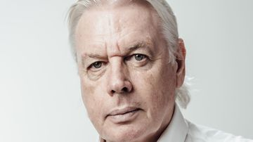 David Icke has been banned from Australia