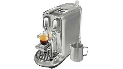 "Nespresso Creatista plus Breville stainless steel, $799, <a href=""https://www.nespresso.com/au/en/order/machines/creatista-plus-breville-stainless-steel-coffee-machine"" target=""_top"">nespresso.com.au</a><br> <br>"