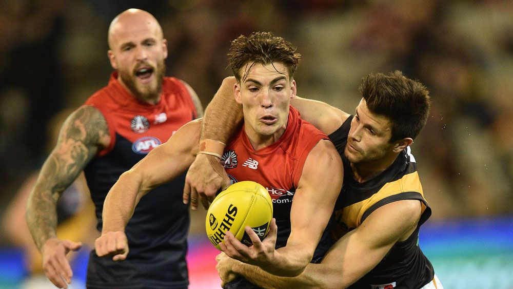 Demons outlast Tigers in AFL thriller