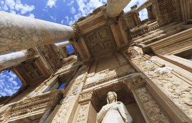 UNESCO World Heritage listed Ephesus.