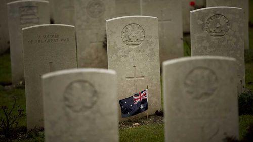 The World War I Australian National Memorial in Villers-Bretonneux.