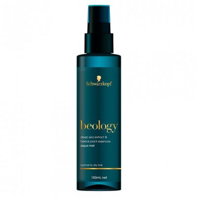 "<strong><em>Slick your hair back and forth with </em></strong>- <a href=""https://www.priceline.com.au/brand/schwarzkopf/schwarzkopf-beology-aqua-daily-hair-essence-mist-150-ml"" target=""_blank"" draggable=""false"">Schwarzkopf Beology Aqua Daily Hair Essence Mist 150ml, $15.99</a>"