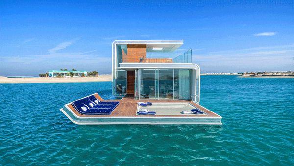 Inside The Luxurious Underwater Villas Off Coast Of Dubai