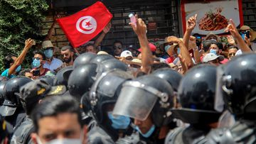 Demonstrators have called for social and economic reforms.