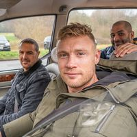 Freddie Flintoff discusses the perks of being on Top Gear