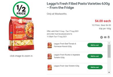 This week is the perfect time to sample Leggo's fresh pasta range.