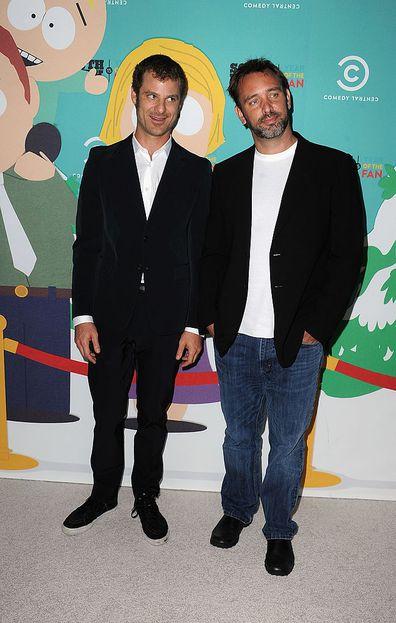 South Park creators, Matt Stone and Trey Parker.