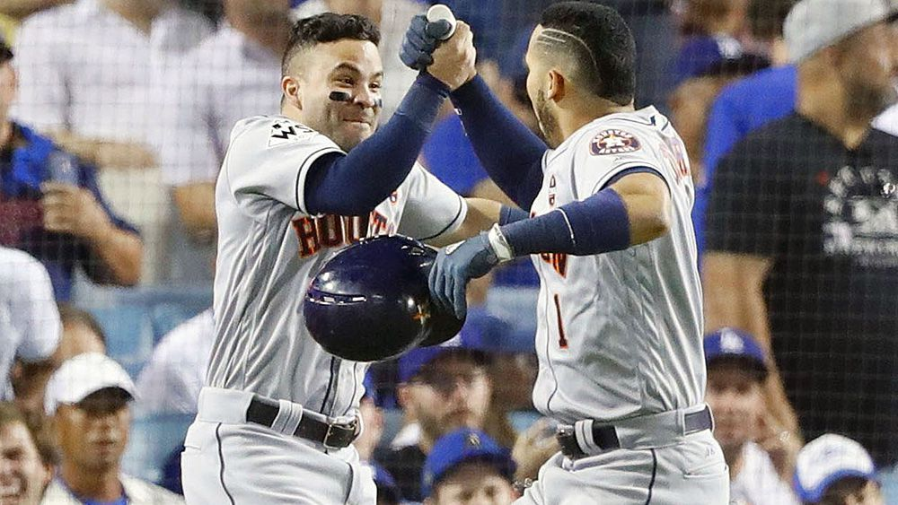 MLB World Series: Houston Astros level series 1-1 against LA Dodgers