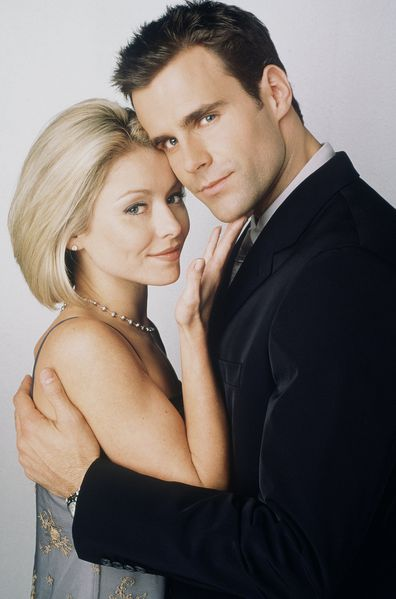 Kelly Ripa (Hayley) and Cameron Mathison (Ryan) of All My Children.