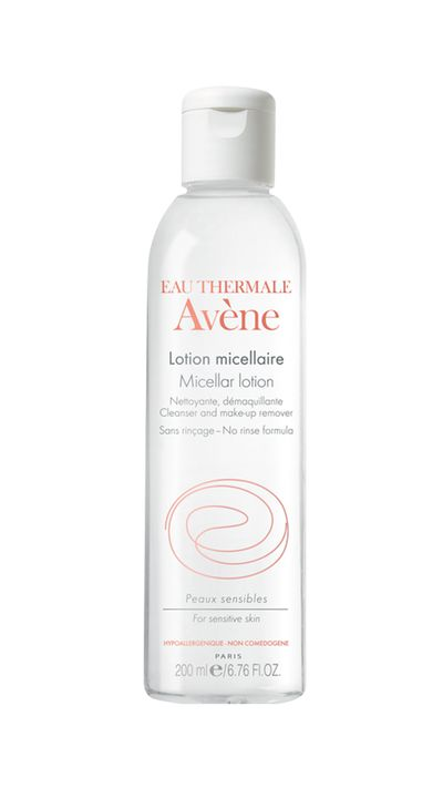 """<a href=""""https://www.priceline.com.au/brand/avene/avene-micellaire-lotion-cleanser-makeup-remover-200-ml"""" target=""""_blank"""">Micellar Lotion Cleanser &amp; Make-up Remover, $34.99, Avene</a>"""