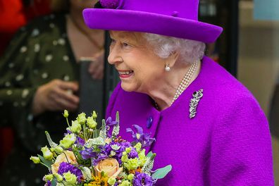 Queen revealed she wore braces as a child during first engagement since Christmas break