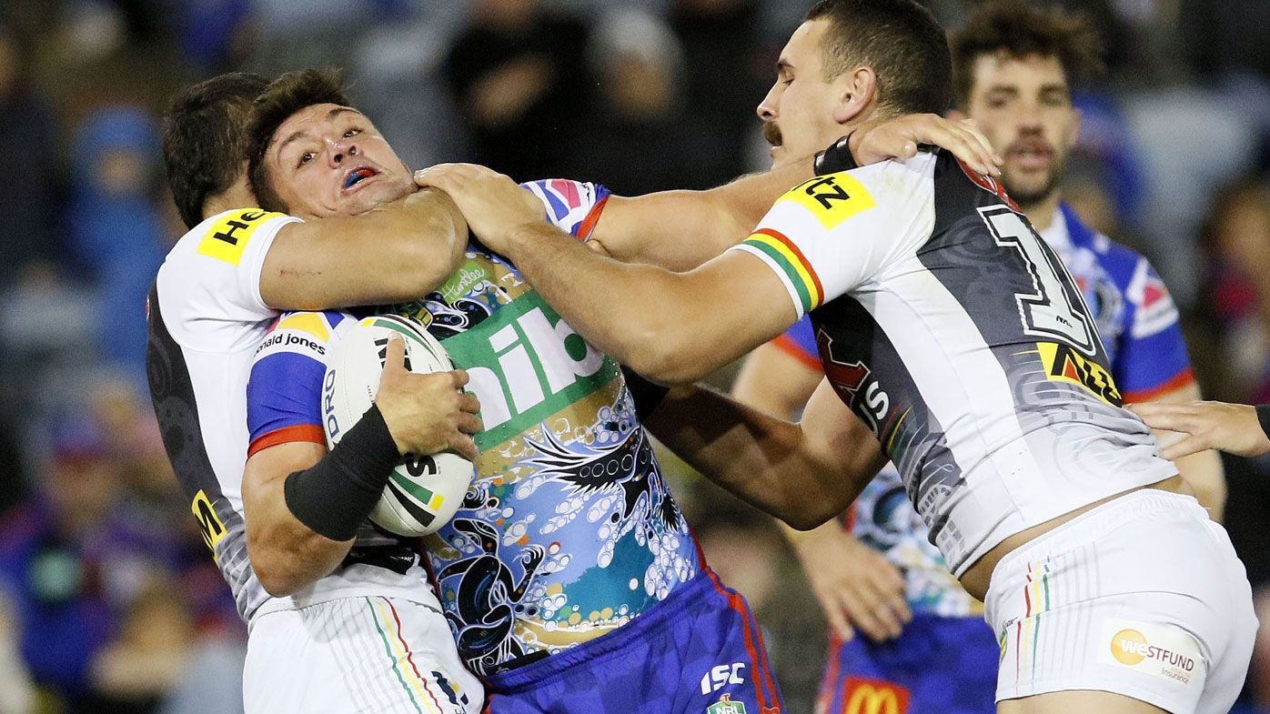 Maloney steers Penrith to win over Knights
