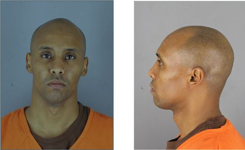 Today's booking photos of Mohamed Noor