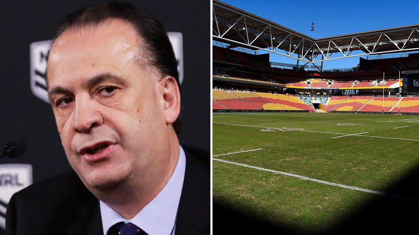Peter V'landys reveals NRL's Brisbane expansion plans, hopes to strengthen State of Origin