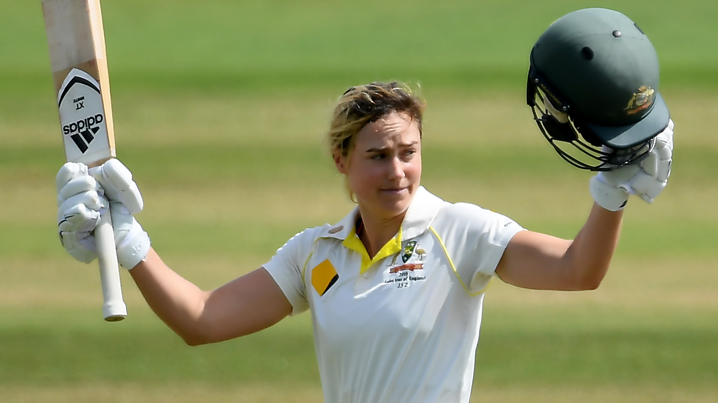 Ellyse Perry joins elite club with century against England in Ashes Test