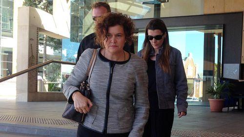 Brenden Bennetts' family attend court. (AAP)