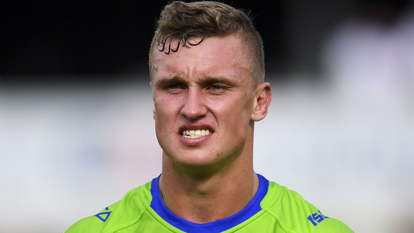 Jack Wighton stood down by Raiders