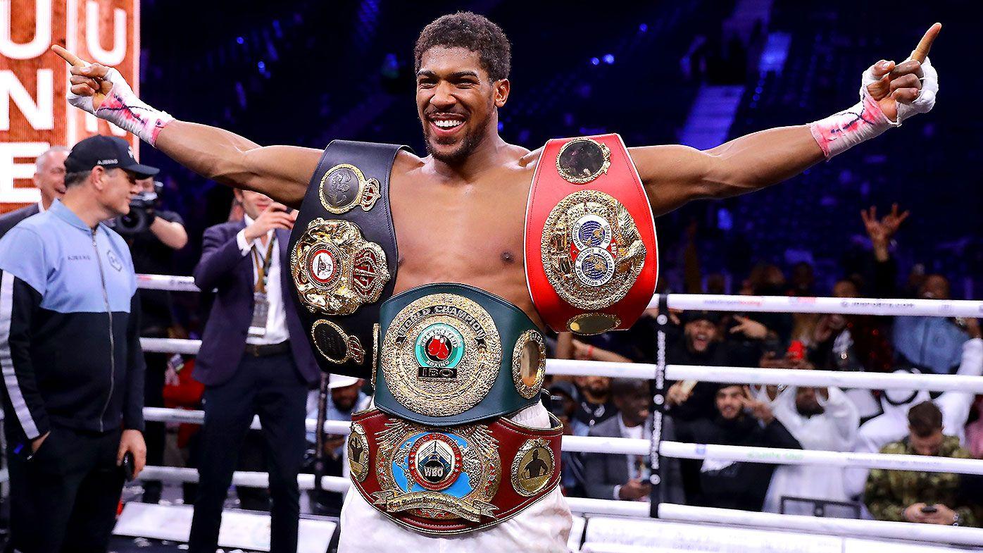 British world champion Anthony Joshua set to fight Kubrat Pulev in June