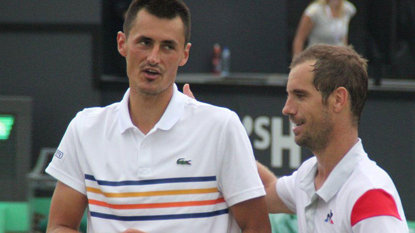 Frenchmen deny all-Australian tennis final with Bernard Tomic and Matthew Ebden