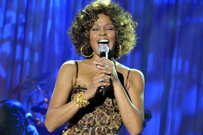 "Later that year, Whitney performed on <i>X-Factor</i> UK, as part of a promotional tour for her new album 'I Look To You.' The appearance was panned, with critics describing her performance as ""Weird,"" ""ungracious"" and a ""flop.<p><br/>"