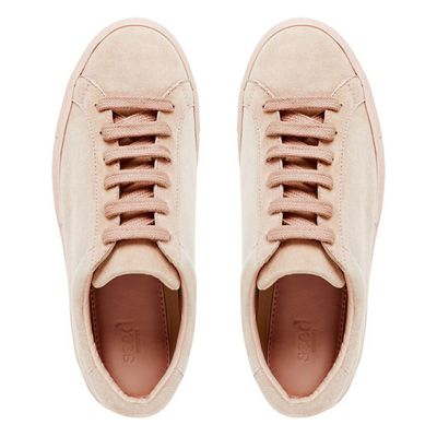 "<a href=""http://www.seedheritage.com/p/candy-sneaker/4098063-688-41-se.html#start=1"" target=""_blank"">Seed Candy Sneaker, $159.95.</a><br>"