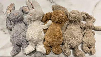 Mum shares photo of her kids bunnies after a strip wash