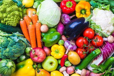 Not enough vegetables