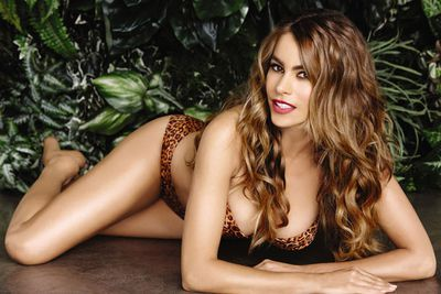 <i>Modern Family</i> star Sofia Vergara spices up a new Kmart bikini line.<br/><br/>(Image: Splash)
