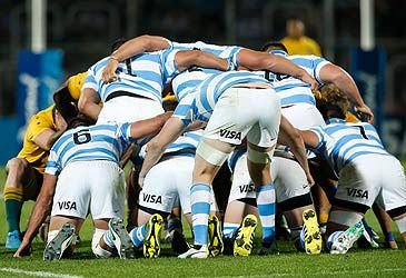 Daily Quiz: What is the nickname of Argentina's national rugby union team?
