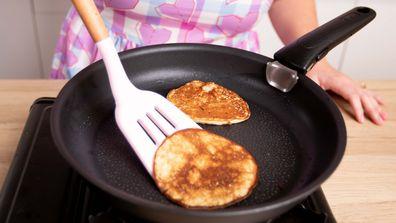 The two-ingredient banana pancake hack