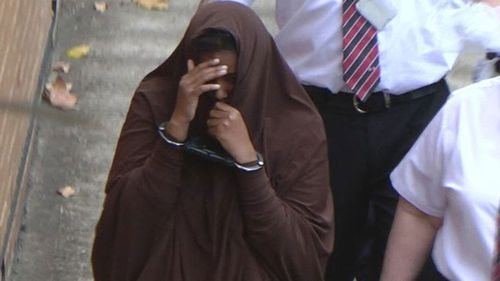 Abdirahman-Khalif was accused of singing ISIS propaganda songs at her home and swearing her loyalty to the group online.