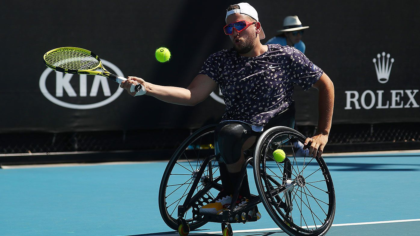 US Open reconsider scrapping wheelchair tennis after Dylan Alcott's protest