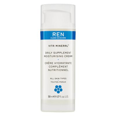 "<p>Ren Clean Skincare</p> <p>Meaning behind the name - Ren means "" clean"" in Swedish.</p> <p>Style Pick -<a href=""https://www.mecca.com.au/ren/vita-mineral-daily-supplement/I-017872.html?cgpath=brands-ren"" target=""_blank""> Ren Vita Mineral Daily Supplement, $37</a></p>"