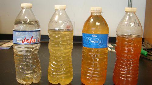 Water samples from Flint. (FlintWaterStudy.org)