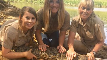 The exhilaration of joining the Irwin family on a croc-catching adventure