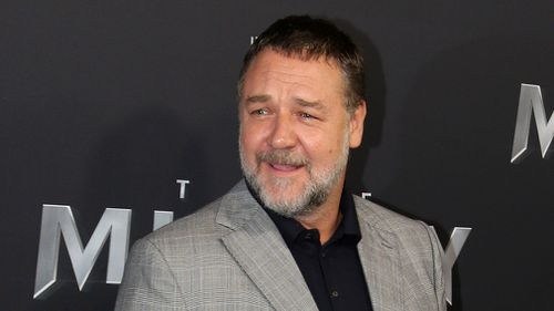 Actor Russell Crowe. (AAP)