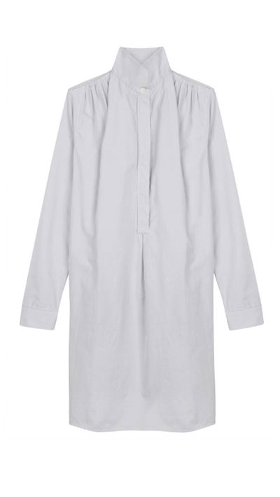 "<a href=""https://www.mychameleon.com.au/stevenson-cotton-shirt-dress-p-3179.html?typemf=women"">Stevenson Cotton Shirt Dress, $417, Atea Oceanie</a>"
