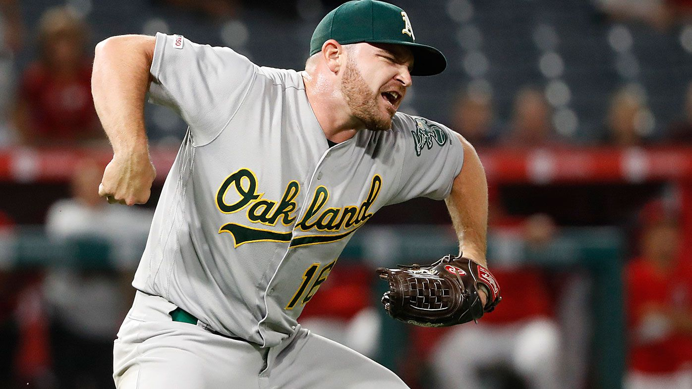 EXCLUSIVE: Aussie Oakland A's pitcher Liam Hendriks reflects on incredible MLB revival after 'lowest moment'