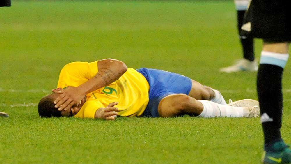Jesus avoids serious injury after MCG blow