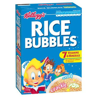 <strong>Rice Bubbles (2.3 grams of fibre per 100 grams)</strong>