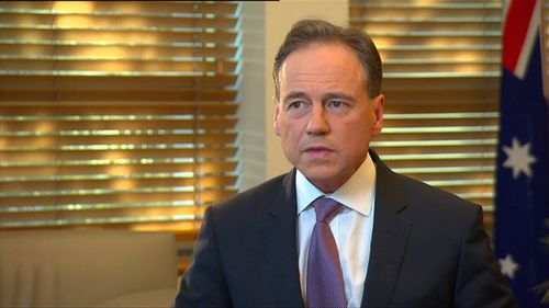 Federal Health Minister Greg Hunt reported the clinic to the Health Care Complaints Commissioner.