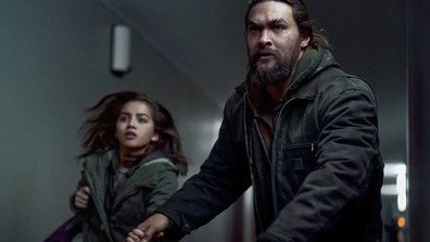 Momoa's character Cooper chases vigilante justice in 'Sweet Girl'.