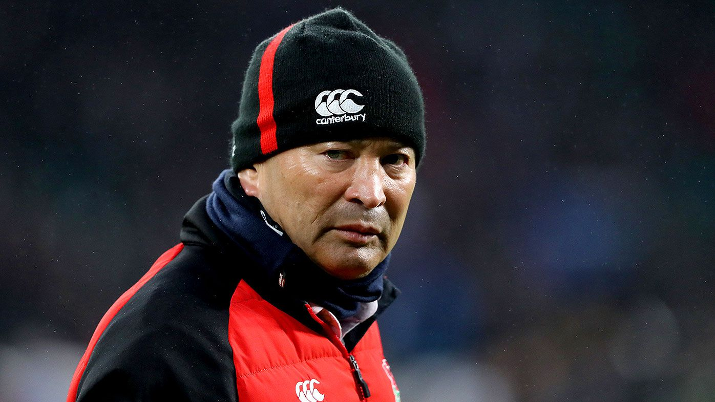 Four summonsed to appear in court for England coach Eddie Jones rugby abuse