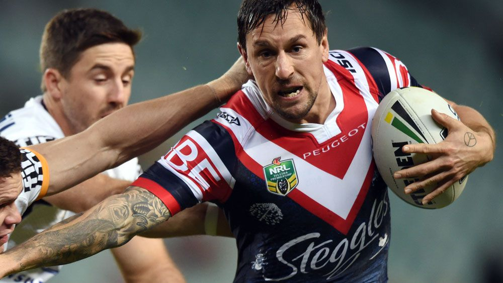 Sydney Roosters star Mitchell Pearce has turned a corner: coach Trent Robinson