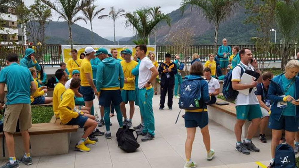 Fire in Aussie building at Rio Olympics